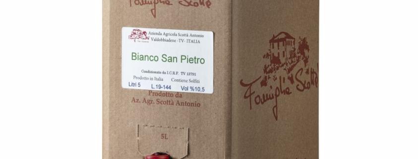Bag in box bianco san pietro