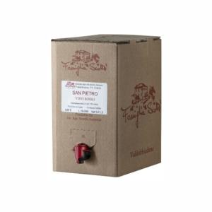Bag in box san pietro rosso