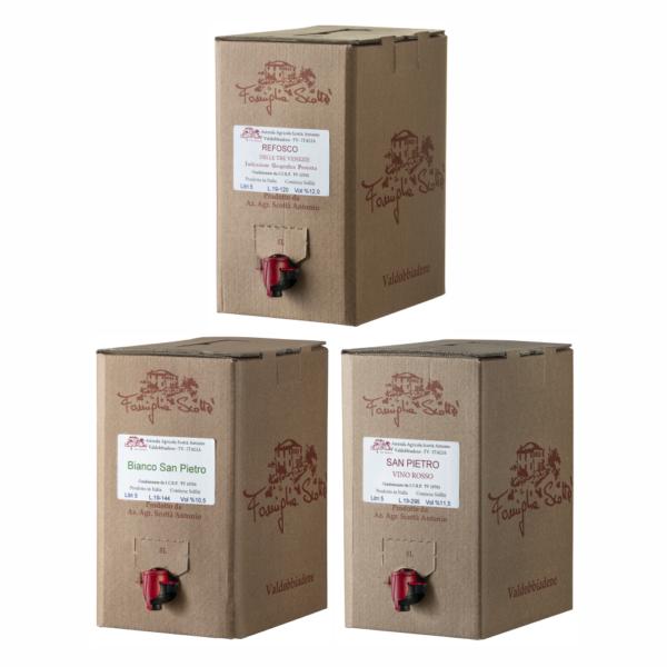bag in box 3 confezioni
