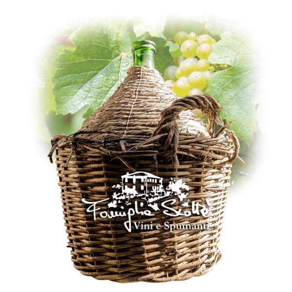 damigiana vino bianco